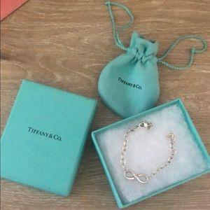 Infinity Tiffany bracelet